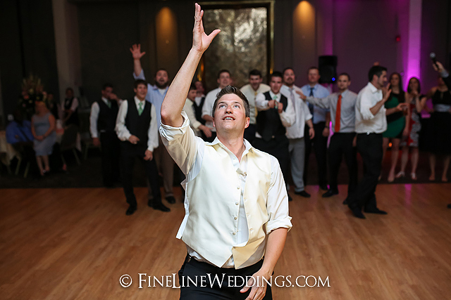 Jimmy Garter Toss | Blairsville Wedding DJ